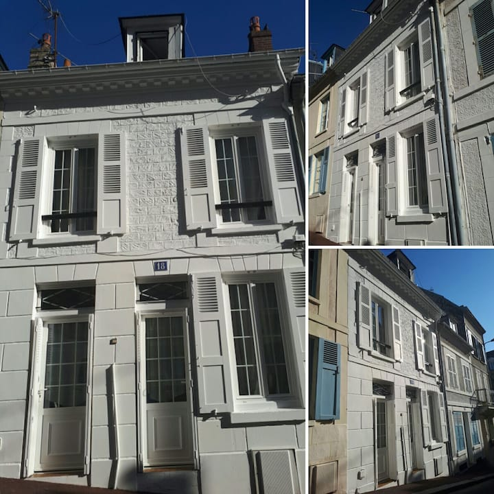 Fisherman's House in the heart of Trouville