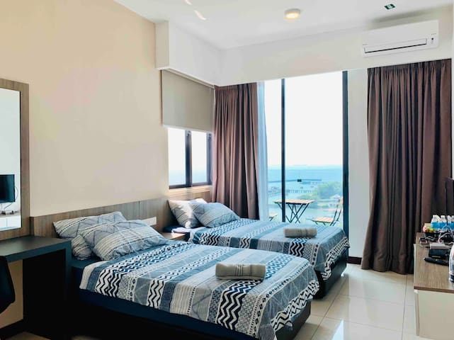 D'Wharf Port Dickson Waterfront Unit B (2 pax)
