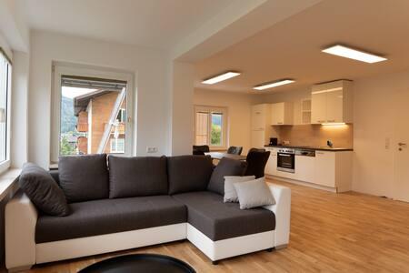 Moderne Ferienwohnung mit schöner Einrichtung