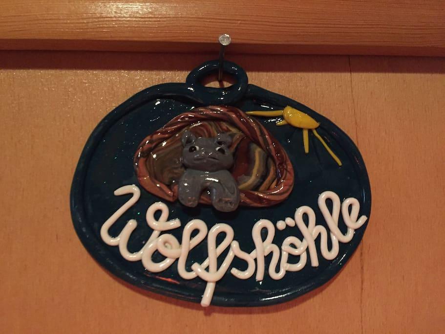 """Wolfshöhle"" means Wolves Den"