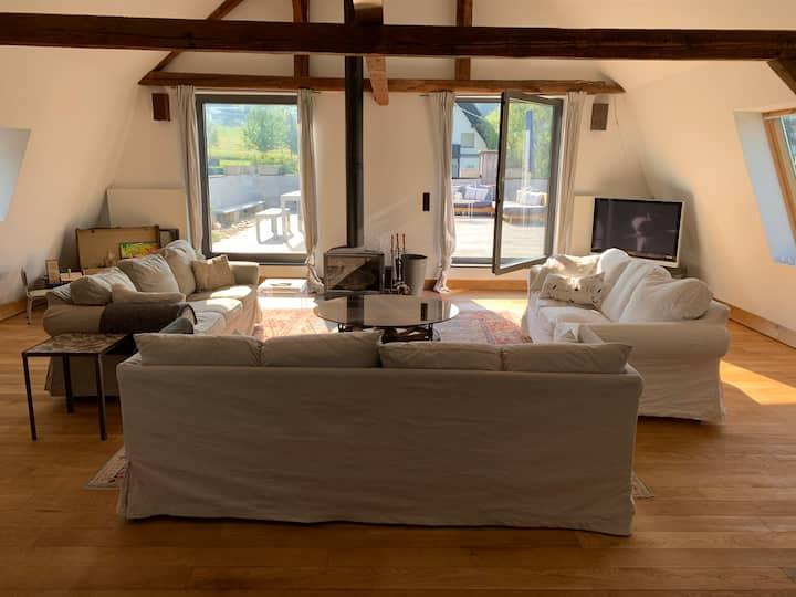 Stylish Loft with big Terrace
