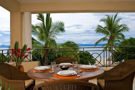 Espectacular beach front condo in Punta Mita - Punta de Mita - Appartement