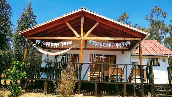 Habitación a minutos del Centro de Eventos El Tebo