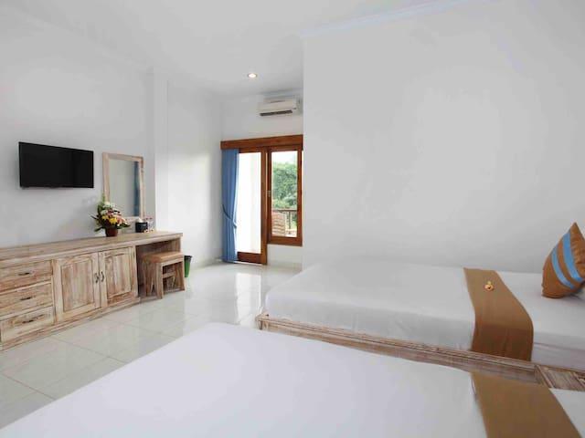 Ayodhya Uluwatu Premium Twin Room