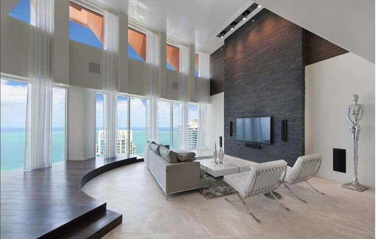 4BD Luxury penthouse Miami Beach Sea view