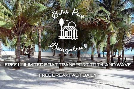Belar Reef Bungalows - Beachfront Room #6