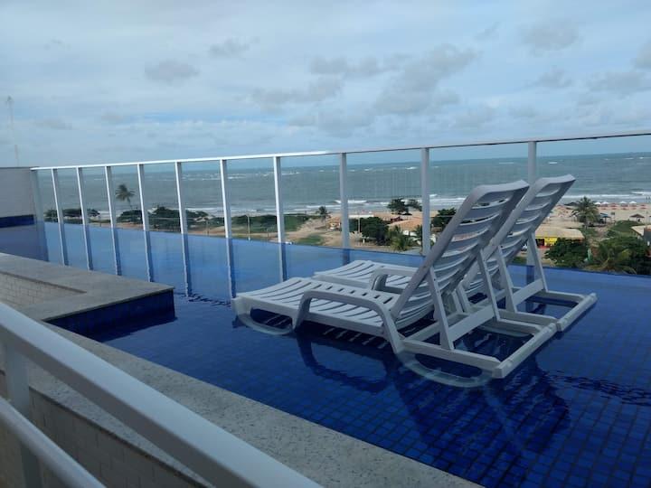 Ótimo Apartamento em Frente ao Mar