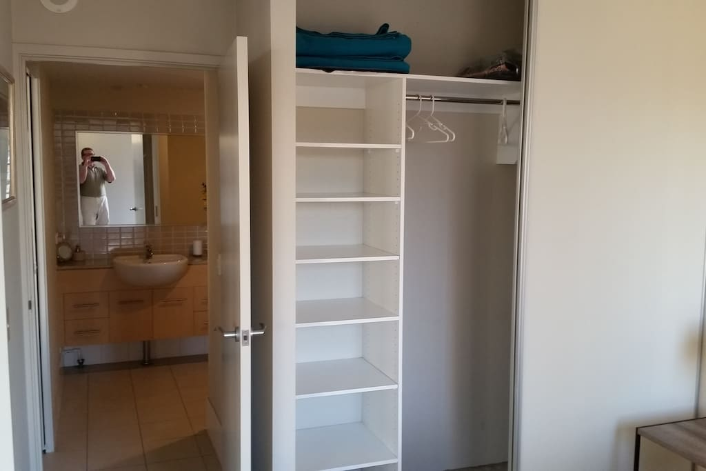 Second bedroom wardrobe space and own ensuite
