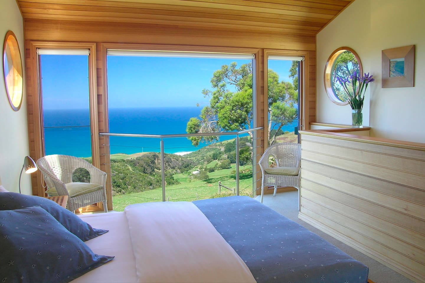 A view to die for from the bed!