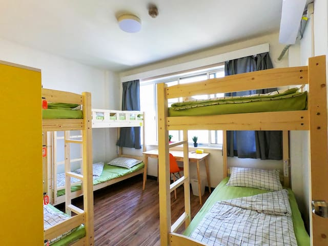 Meeting Point Hostel Bed in 6 Bed Female Room