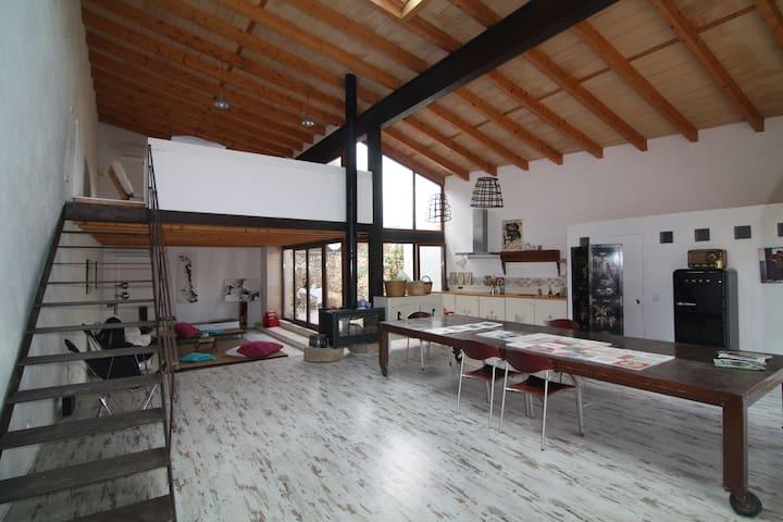 LOFT RURAL  EN EL CORAZON DE MALLORCA - Santa Eugènia - Loftlakás