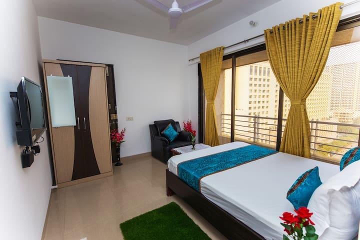 Homely Private room in Ambani Hospital lane