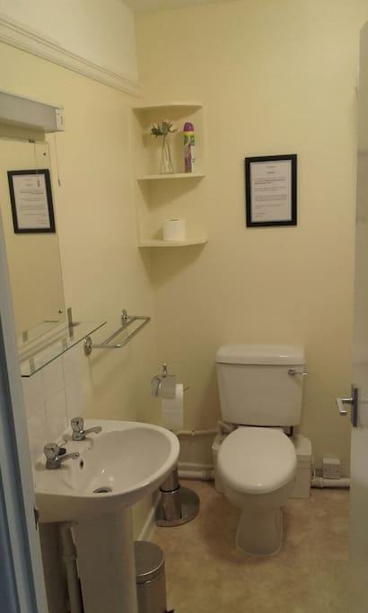 Nice clean ensuite.