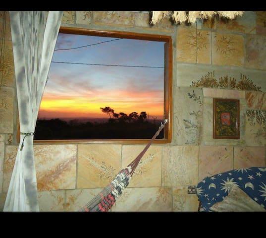 Casa Pôr do Sol, canto dos pássaros e conforto