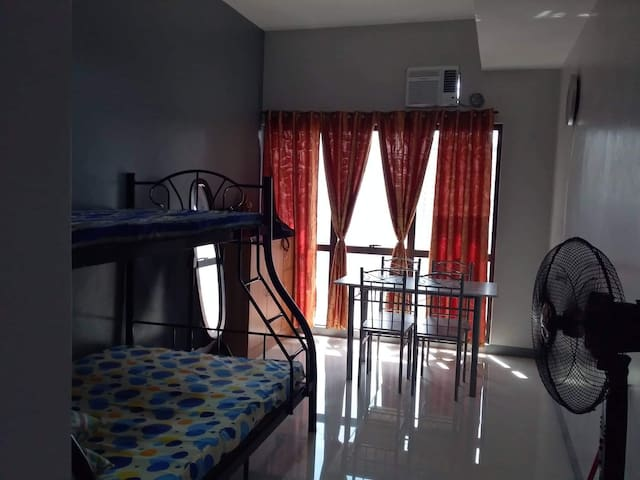 High rise studio type Condo.,Across UST Hospital