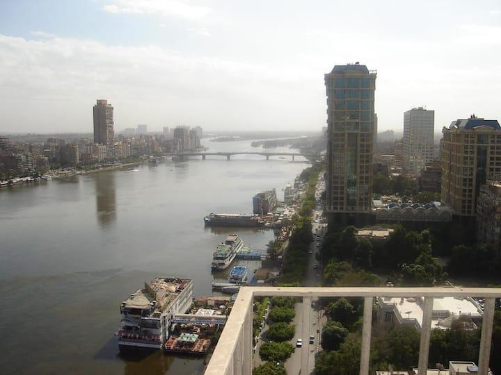 400sqm Nile view Luxury apartment