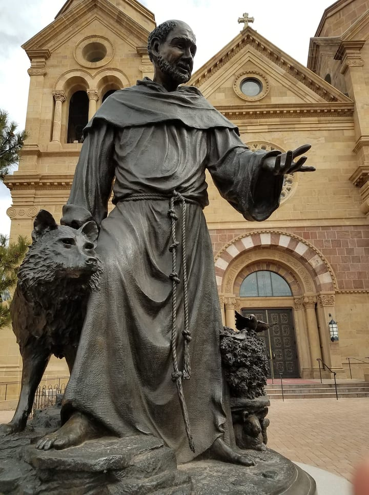 St Francis has lessons for hunters