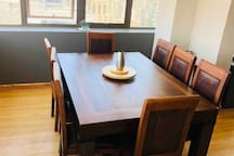 Dining table for 8  new in december 2019