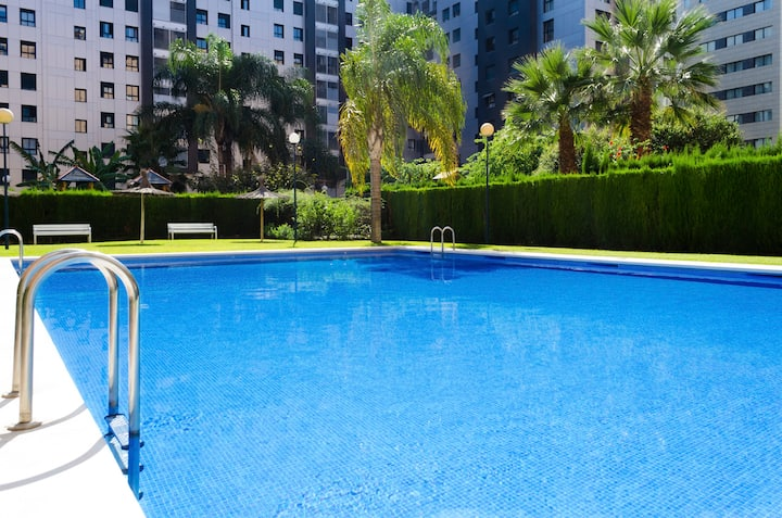 ApartUP Francia Views AACC+Wifi+Pool+Parking
