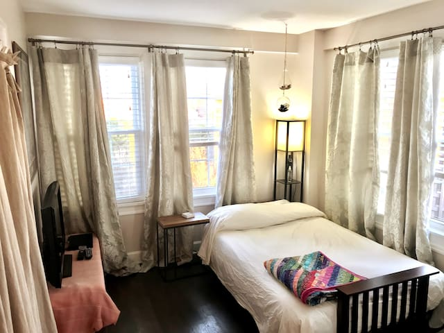Pvt BR/BA ensuite in Highlands, walk to UAB/food