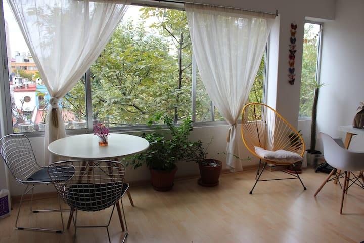 No es una casa, es un hogar!! - Mexico City - Lägenhet