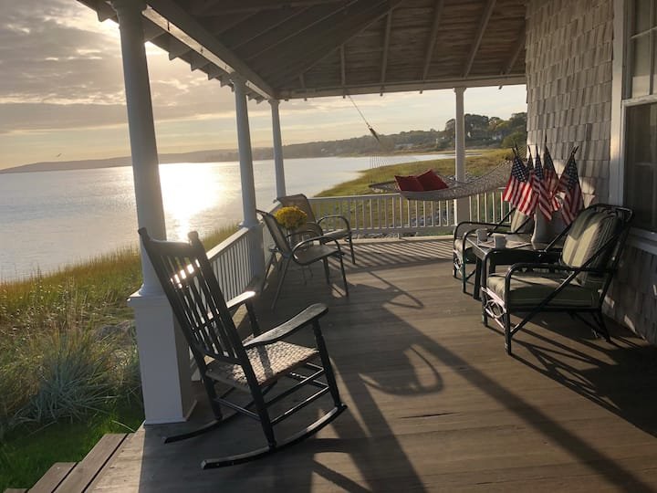 The Porch on Plymouth Harbor