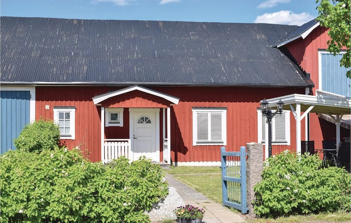 Beautiful apartment in Blomstermåla with 1 Bedrooms
