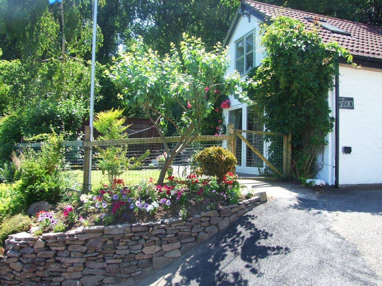 The Studio & garden