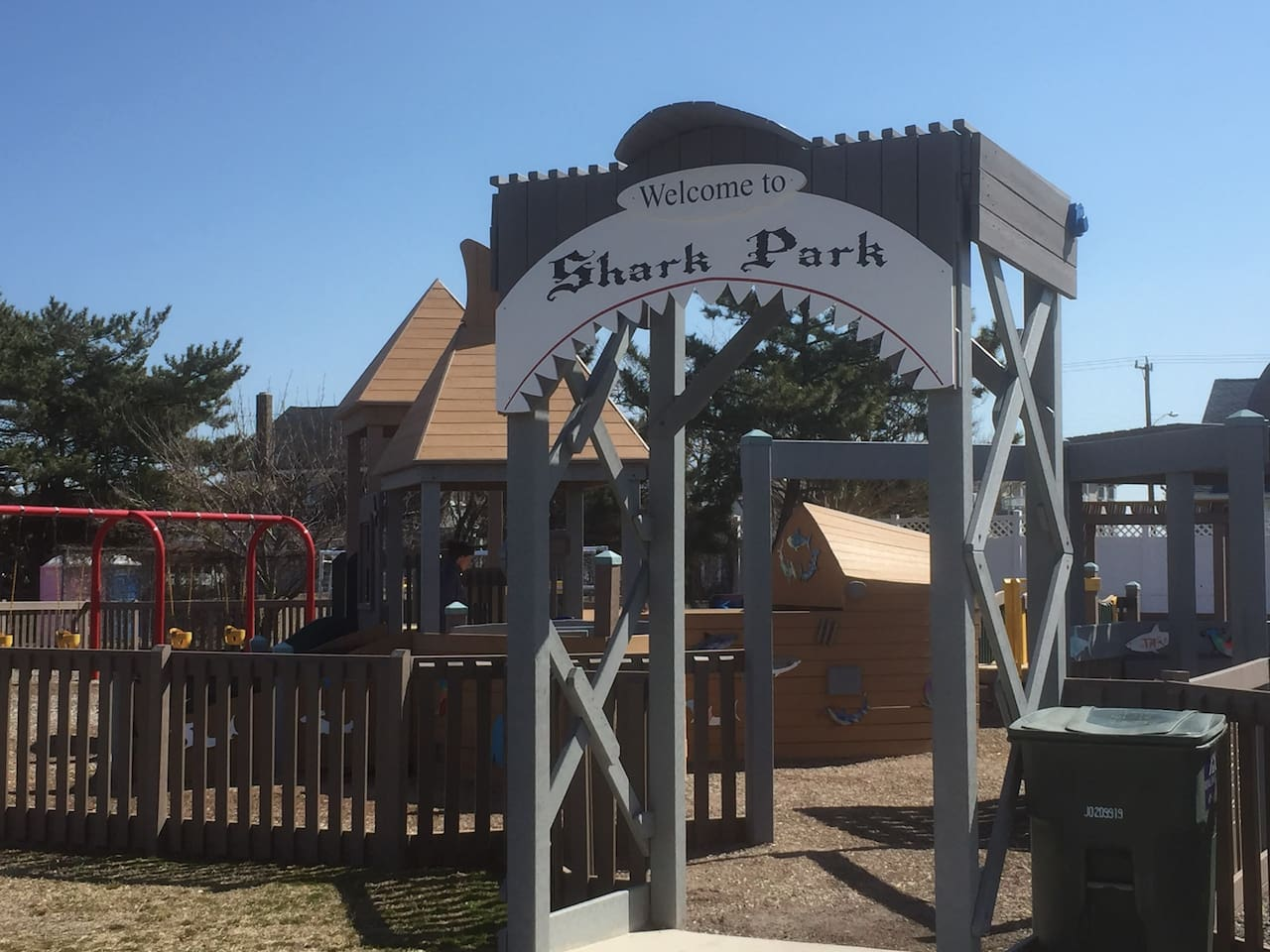Shark Park Playground -Kids Love It!