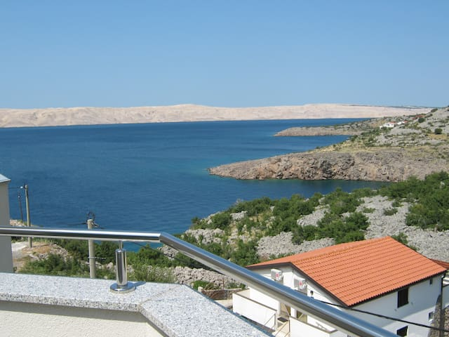 1 Bed apartment 2+1 at the northern Adriatic. - Karlobag - Villa