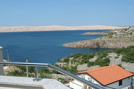 1 Bed apartment for 2 at the northern Adriatic. - Karlobag - Casa de camp