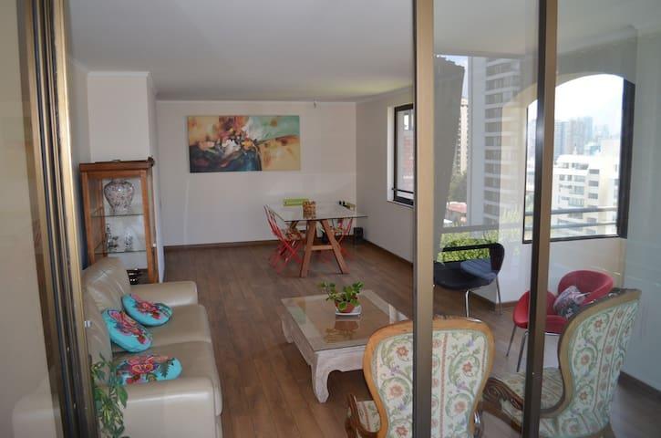 Habitación Single en Las Condes - Metro Manquehue - Santiago - Apartment