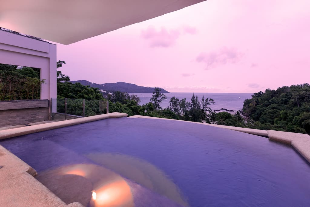 First Building Back from KATA BEACH! No roofs to look over direct seaview! Excellent Sunsets!