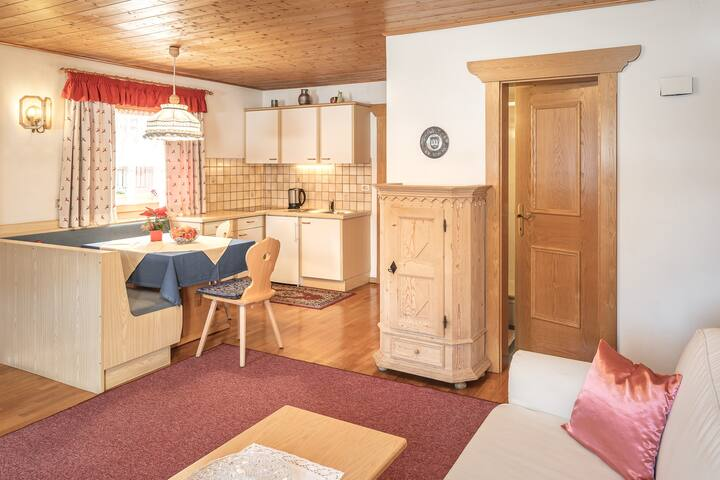 "Cosy Holiday Apartment ""Corones"" in the Apartment House Promberger*** with Balcony, Mountain View, Sauna, Wi-Fi & TV; Parking Available"