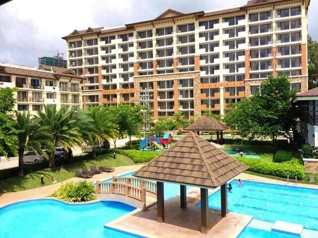 Cozy 2 Bedroom Condominium Complex in Cebu City