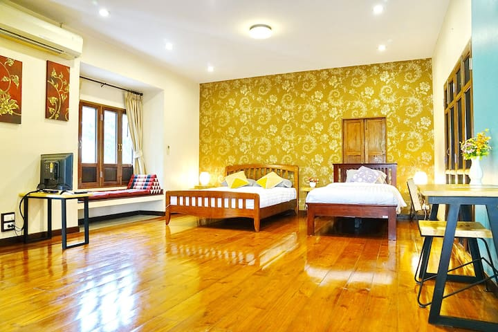 Triple room in a Quiet place in Chiang Mai