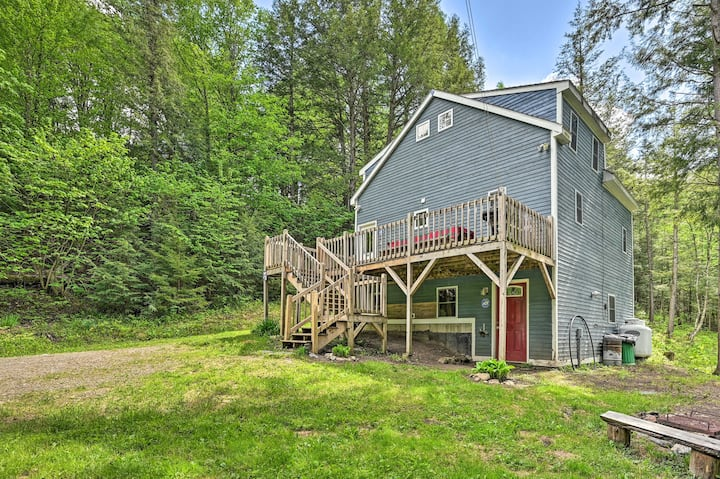 NEW! Cabin in the Untouched Woods, 3 Miles to Ski!