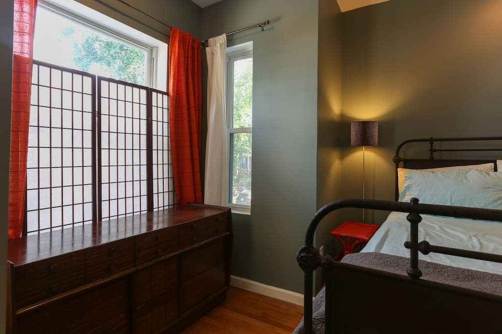 bedroom large window
