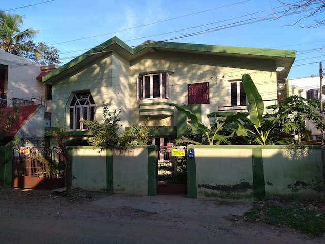 Front view of our home