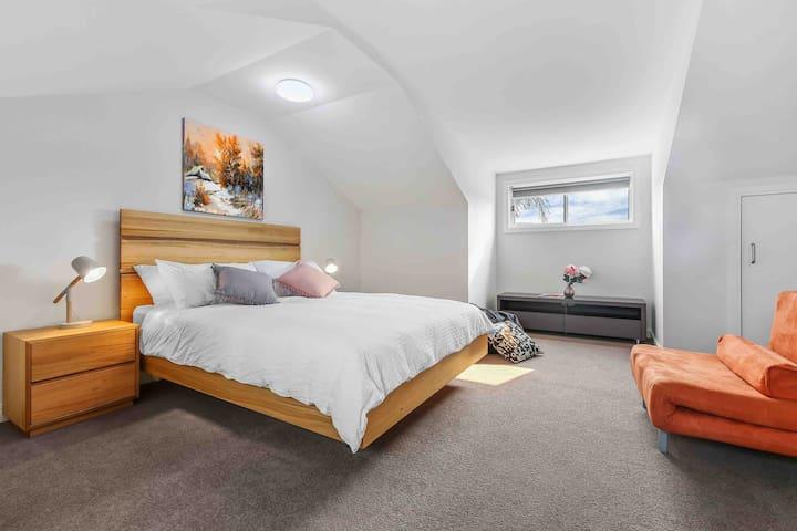 the 3rd bedroom on the top floor
