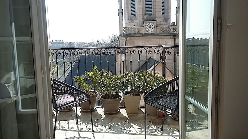 La passerelle Saint Georges / Stunning view