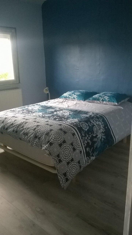 Chambre bleue à  St Armel à 100m golfe Morbihan)
