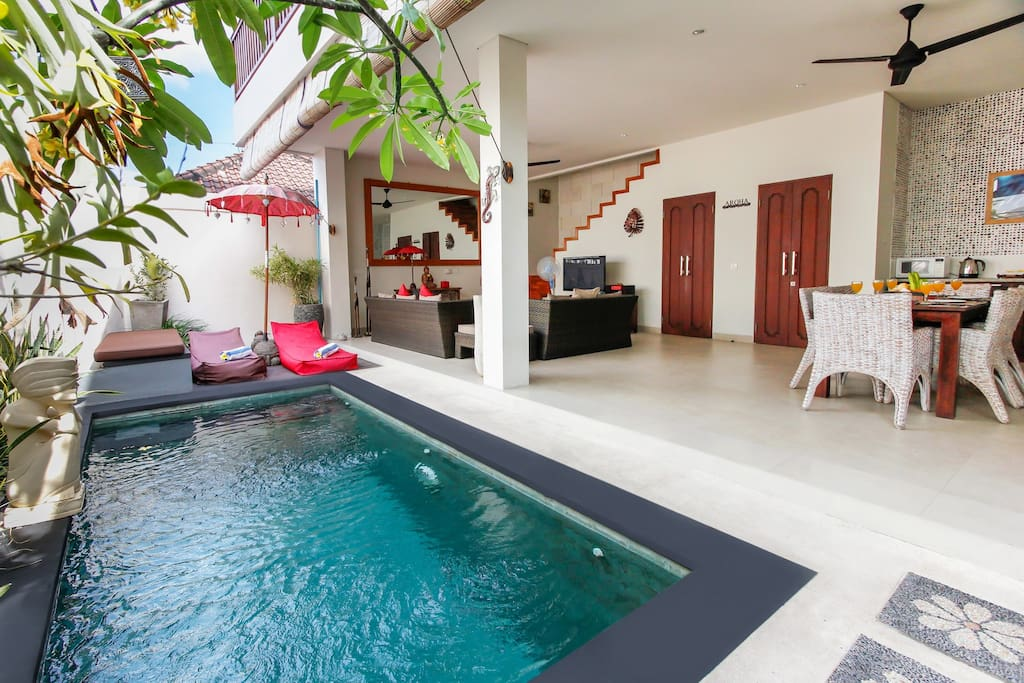 Double Units T 2 Bedroom Villa In Legian Villas For