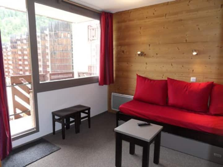 Very nice studio renovated of 28 m², for 4 people