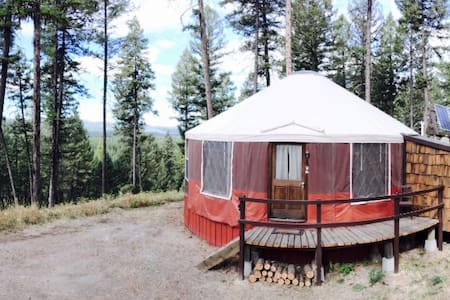 Spencer  Mountain Solar Yurt - ホワイトフィッシュ(Whitefish)