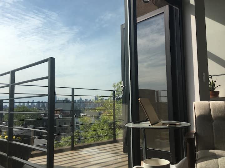 Williamsburg Apt. Panoramic View/Private Rooftop