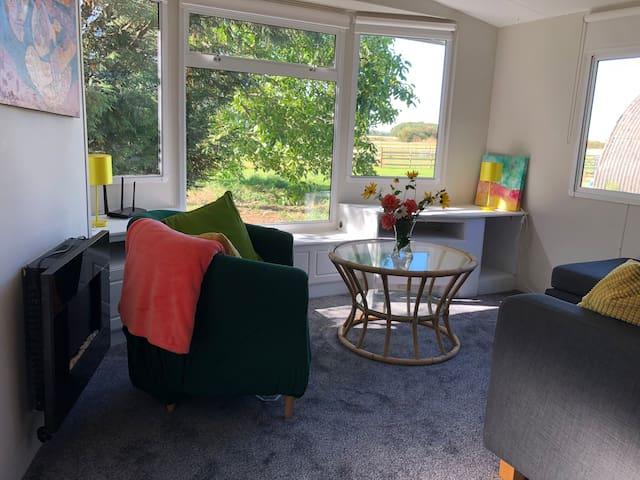 Space, clean air and quiet: north Cambridge
