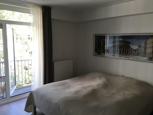 Master bedroom + Balcony