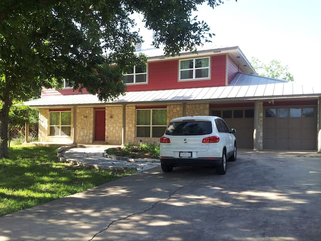 Southern Country Rm, So Austin-15 min. 2 downtown - Manchaca - Hus