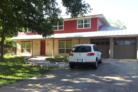 Southern Country Rm, So Austin-15 min. 2 downtown - Manchaca - Huis